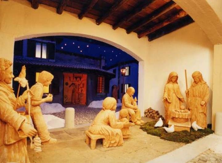 Presepi di Natale a Agrigento Foto